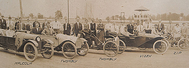 1st cyclecar Rennen in Detroit, USA
